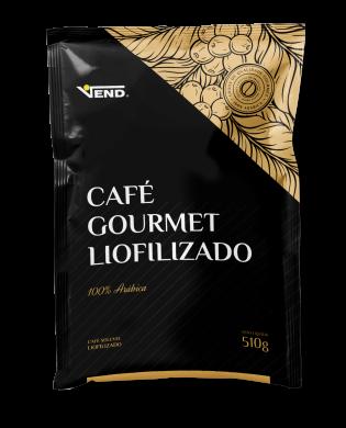 Café Gourmet Liofilizado Vend  Solúvel 510g