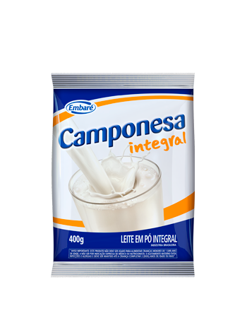 Leite em pó Camponesa sem açúcar 400 G