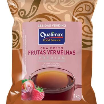 Chá Preto Frutas Vermelhas Premium Qualimax kg